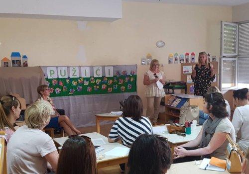 Edukacija za odgojitelje i stručne suradnike u predškolskim ustanovama
