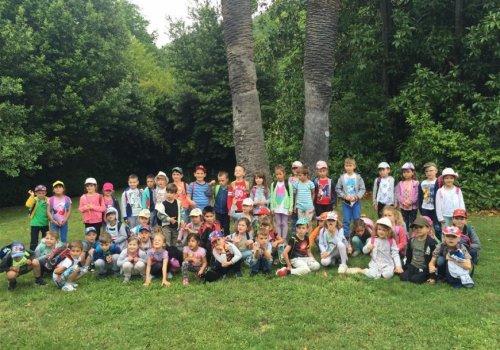 Veseli patuljci i Palčići posjetili arboretum u Trstenom